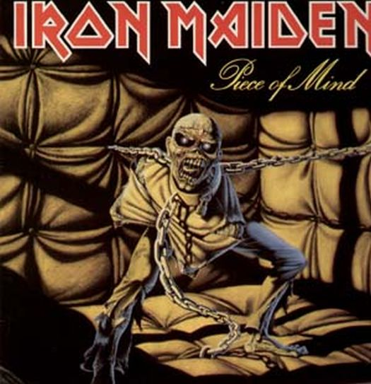 Iron-Maiden-Piece-of-Mind-FOC-wie-neu